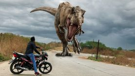 T Rex Chase Part 2 Jurassic World Fan Movie dinosaur in real life